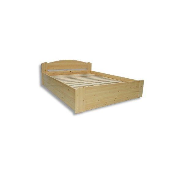 Zsolt fenyő ágyneműtartós ágy 140'