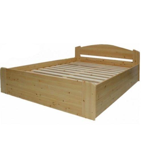 Zsolt fenyő ágyneműtartós ágy 200*200