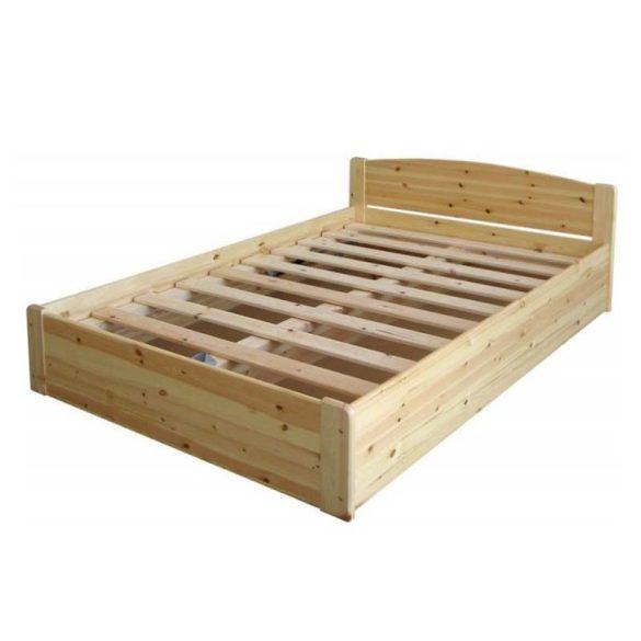 Henrik fenyő ágyneműtartós ágy 140