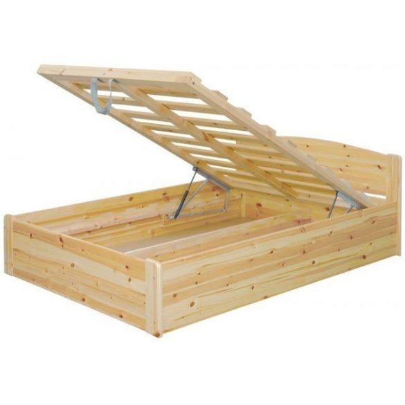 Henrik fenyő ágyneműtartós ágy 180'
