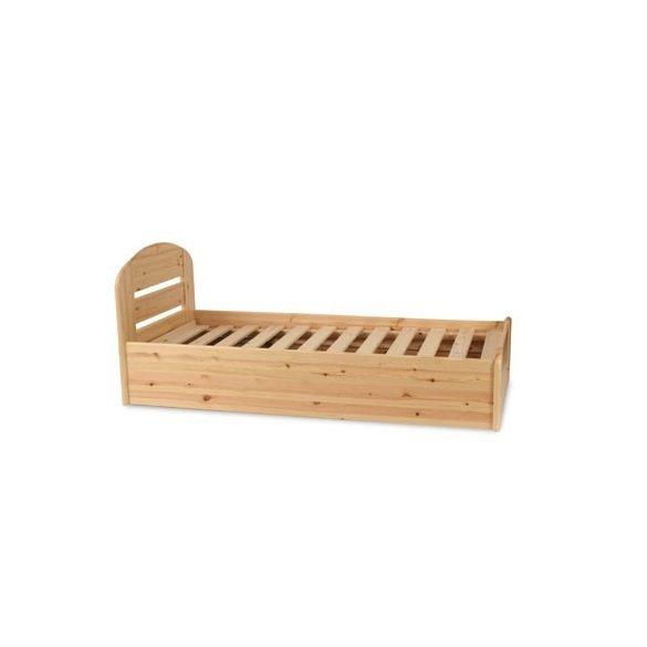 Anikó fenyő ágyneműtartós ágy 140'