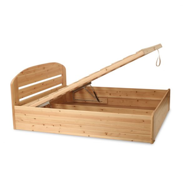 Anikó fenyő ágyneműtartós ágy 90'