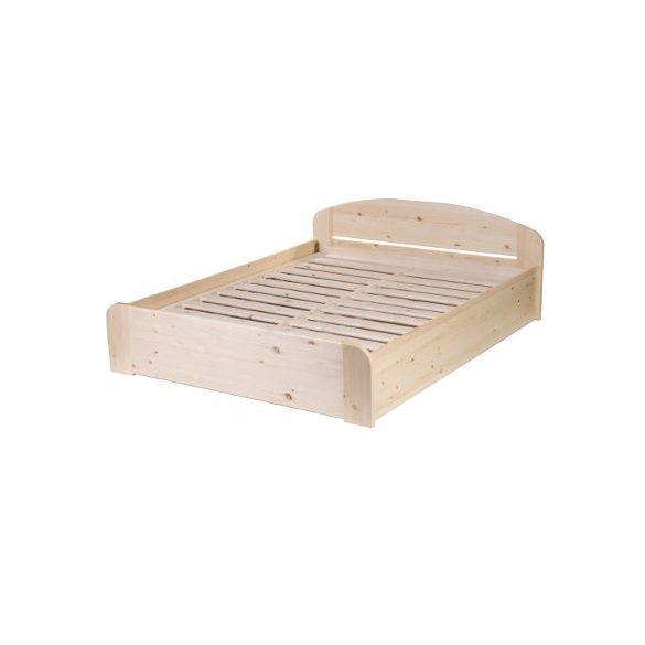 Caludia fenyő ágyneműtartós ágy  180'