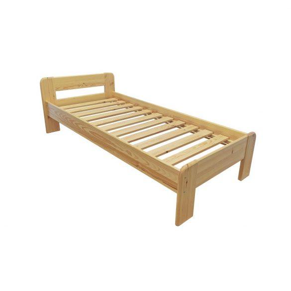 Minimál fenyő ágy + ágyrács