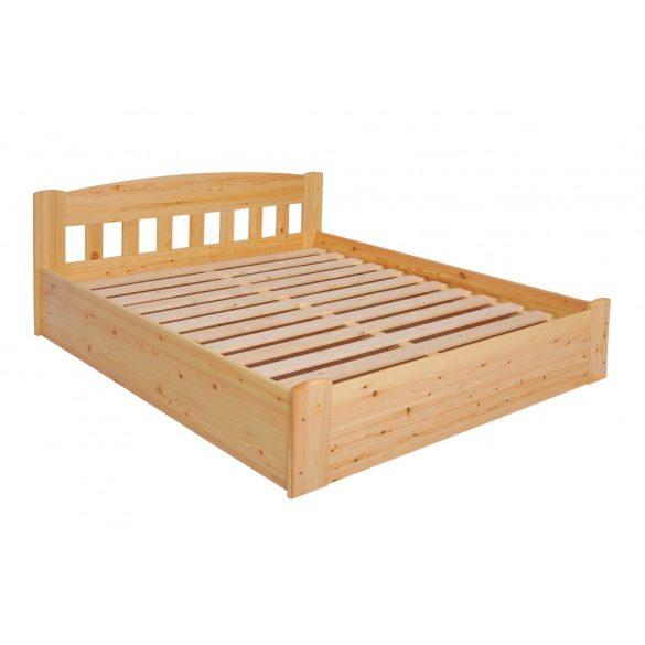 Sára rácsos fenyő ágyneműtartós ágy 180'