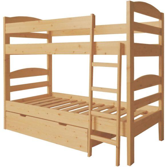 Zénó emeletes ágy+ ágyrács