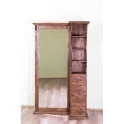 Tulipán előszoba szekrény tükörrel