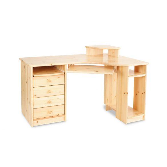 Vanessa sarok íróasztal kicsi (balos)