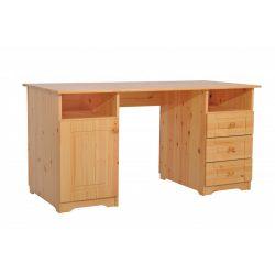 Martin 1 ajtós, 3 fiókos íróasztal