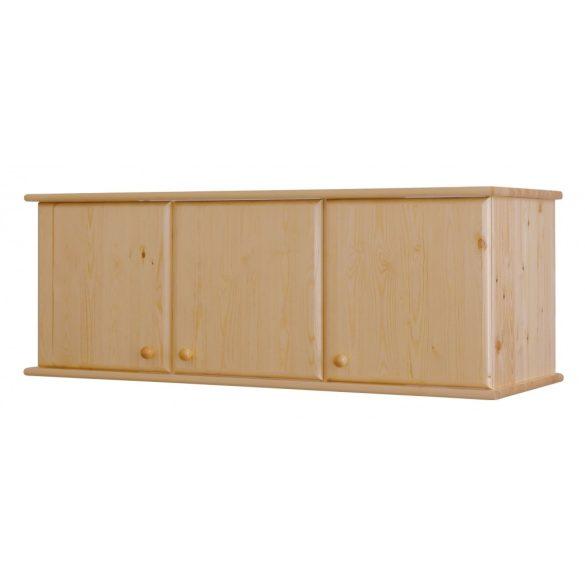 Csanád 3 ajtós (lapra szerelt) szekrény magasító