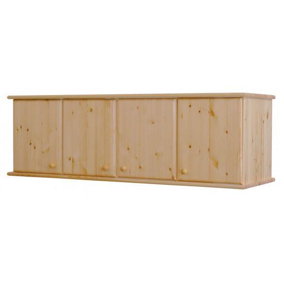 Csanád 4 ajtós (lapra szerelt) szekrény magasító