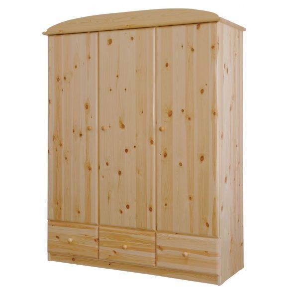 Csanád 3 ajtós 3 fiókos szekrény