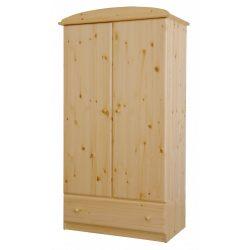 Csanád 2 ajtós 1fiókos szekrény akasztós