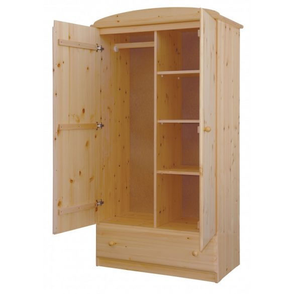 Csanád 2 ajtós 1 fiókos Válaszfalas szekrény