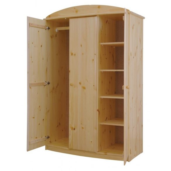 Csanád 3 ajtós íves szekrény