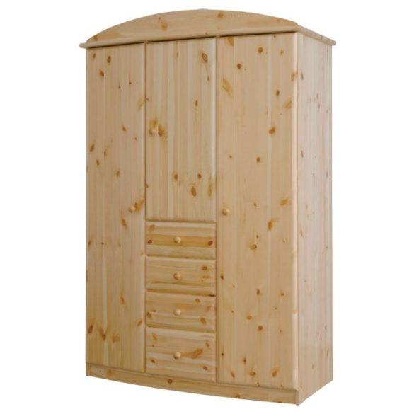 Csanád íves 3 ajtós 4 fiókos szekrény