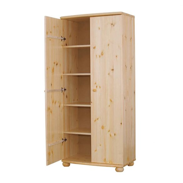 Claudia 2 ajtós polcos szekrény 45'
