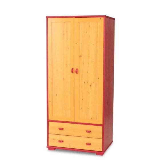 Vanessa 2 ajtós 2 fiókos akasztós szekrény