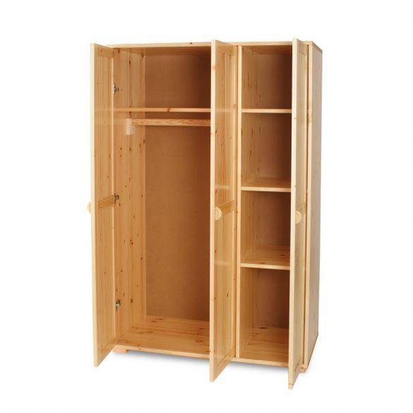 Vanessa 3 ajtós szekrény