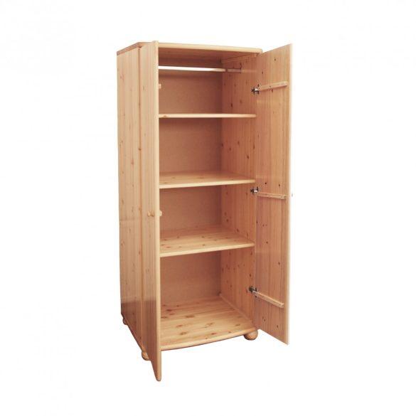 Claudia 2 ajtós Gardrób szekrény 190 cm magas!