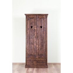 Tulipán 2 ajtós válaszfalas szekrény ( kód 173 )