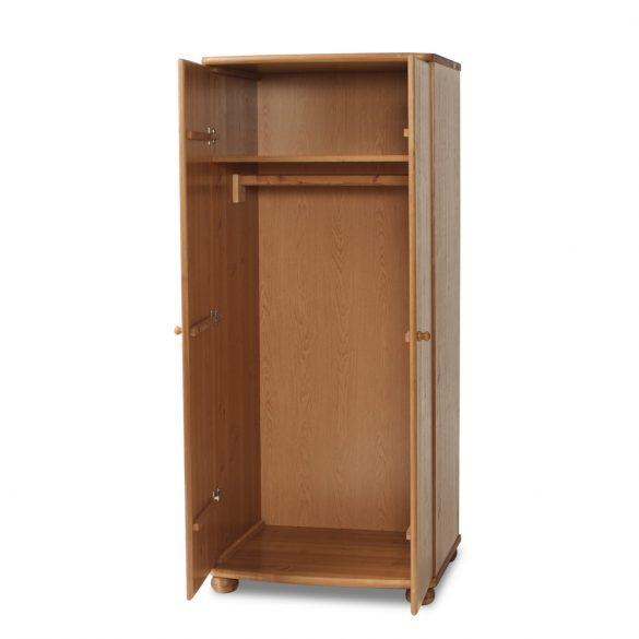 Claudia 2 ajtós akasztós szekrény 62'