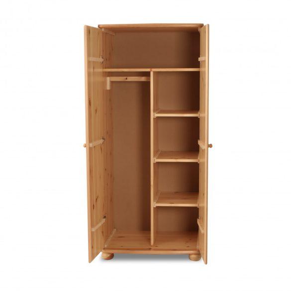 Claudia 2 ajtós válaszfalas tükrös szekrény