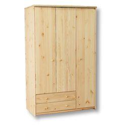 Tamás 3 ajtós 2 fiókos szekrény