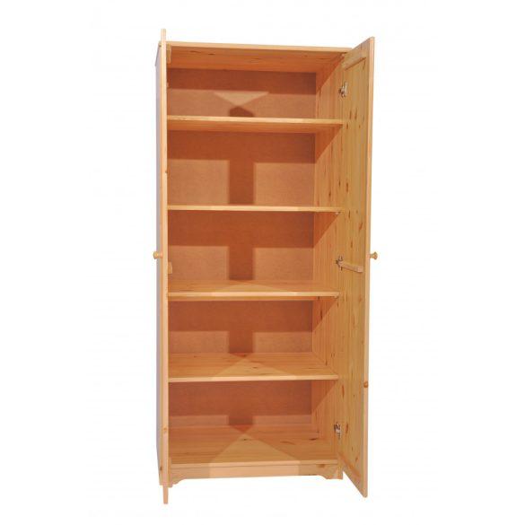 Balázs 2 ajtós polcos szekrény