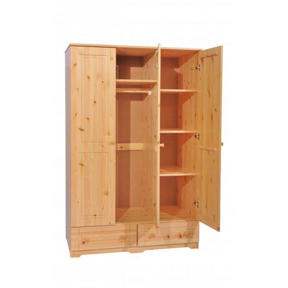Balázs 3 ajtós 2 fiókos tükrös szekrény