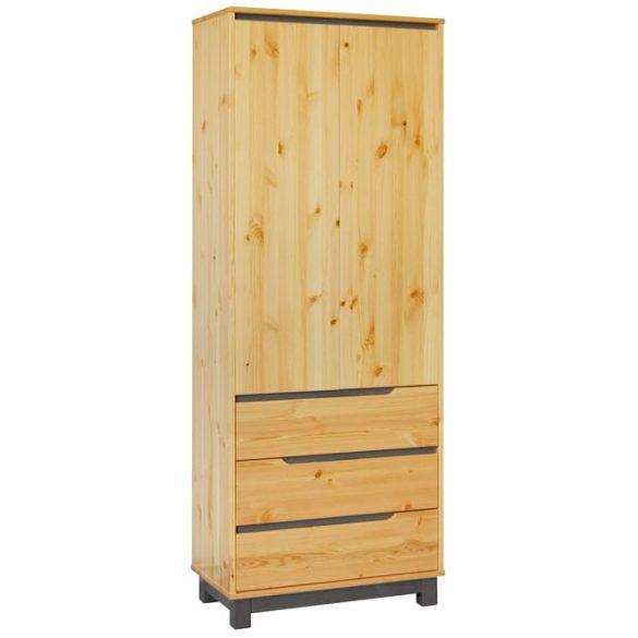 Lexa szekrény 3 fiókos akasztós