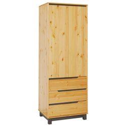 Lexa szekrény 3 fiókos polcos