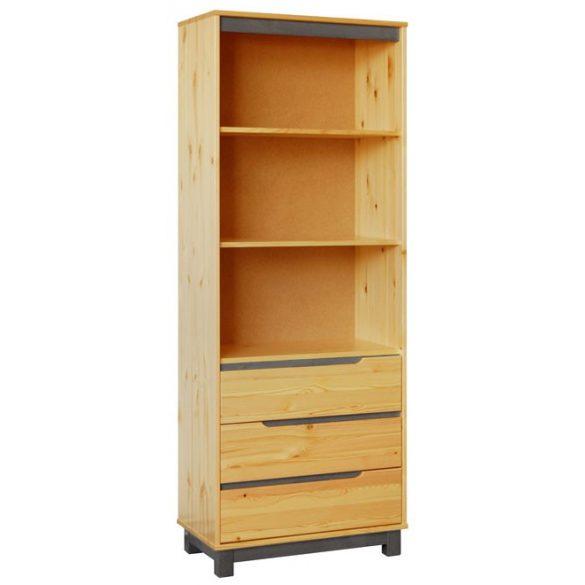 Lexa szekrény 3 fiókos nyitott