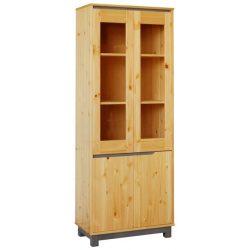 Lexa szekrény 2 ajtós üveges