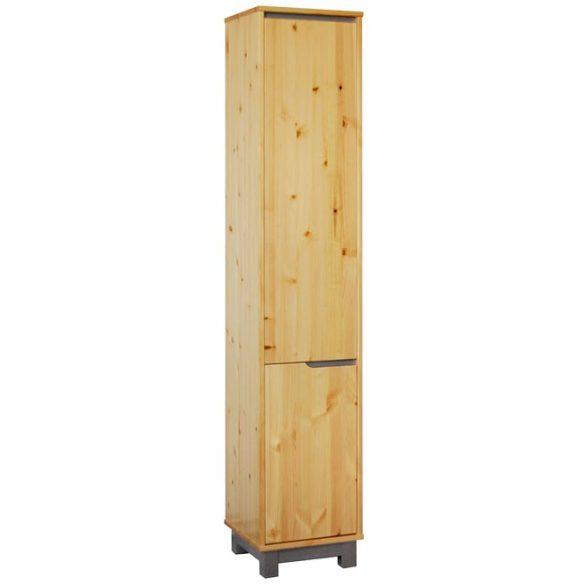 Lexa szekrény 1+1 ajtós polcos keskeny