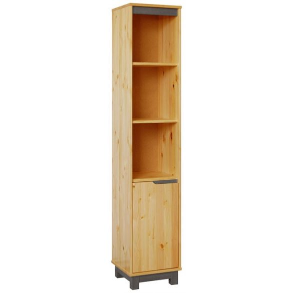 Lexa szekrény 1 ajtós nyitott keskeny