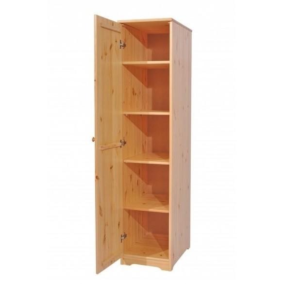 Balázs 1 ajtós keskeny polcos szekrény