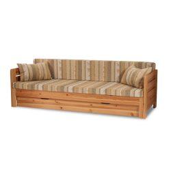 Vanessa kihúzható kanapé ágykeret ágyráccsal, ágyneműtartóval