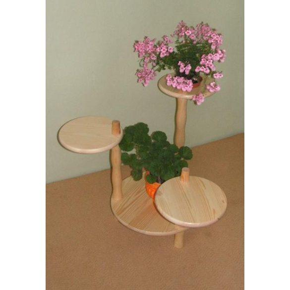 Virágtartó 3+1 elemes