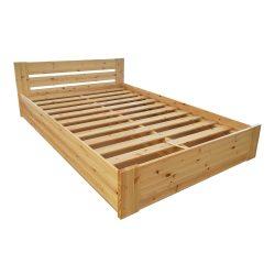 Nobis ágyneműtartós fenyő ágy 160'
