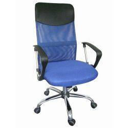 Olga görgős irodai szék kék