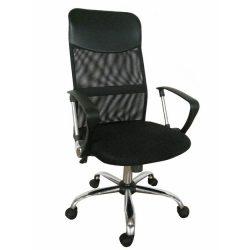 Olga görgős irodai szék fekete