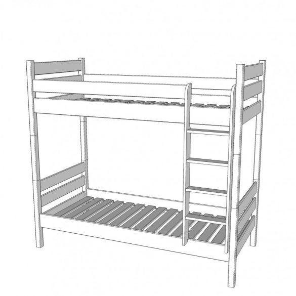 Leo duplex emeletes ágy 90*200 / db