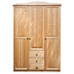 Gold 3 ajtós 3 fiókos szekrény