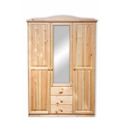 Gold 3 ajtós 3 fiókos tükrös szekrény
