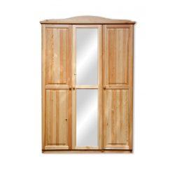 Gold 3 ajtós tükrös szekrény