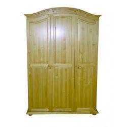 Gold 3 ajtós íves szekrény