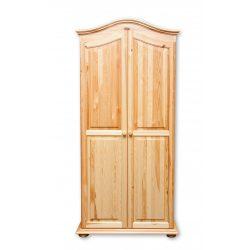 Gold 2 ajtós íves szekrény