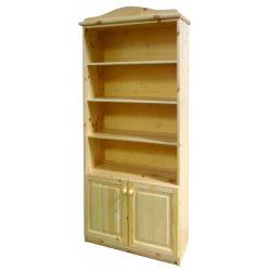 Gold 2 ajtós könyves szekrény