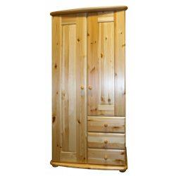 Viki 2 ajtós 3 fiókos akasztós szekrény